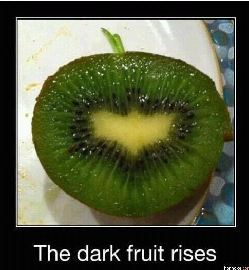 Batfruit. Don't look at the tags.. It's the fruit Gotham deserves!