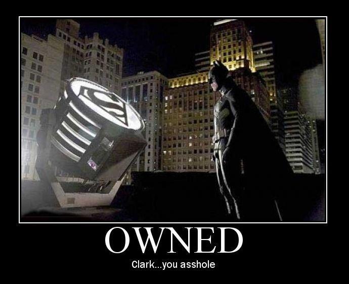 Batman. . Clarkyboi asshole