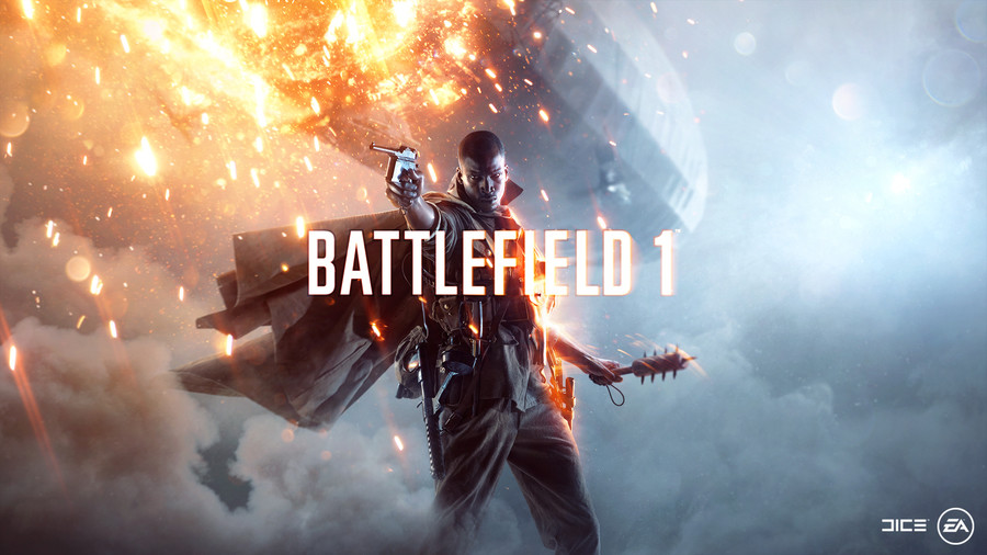 """Battlefield 1 Debut Gameplay Trailer. Battlefield 1 Debut Gameplay Trailer & Screens BATTLEFIELD 1 Gameplay (48 Minutes). DICE"""" (iii). Why is the poster character for this game black? I mean, wouldn't it make more sense for it to be a white guy..."""