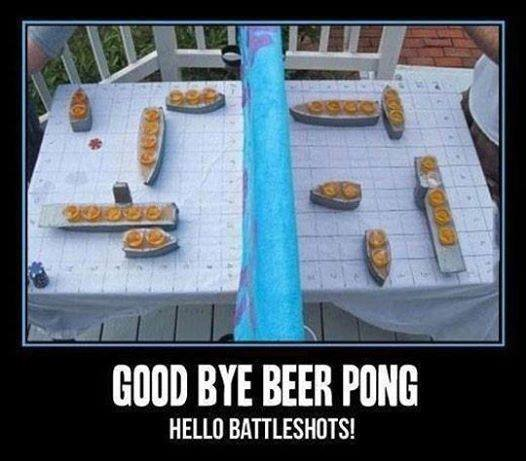 Battleshots. . ilyt ' HELLO. This is a game for real gentlemen. When you're trying to impress all the ladies with keen intellect and masculine alcohol tolerance. Well that is if your fedora