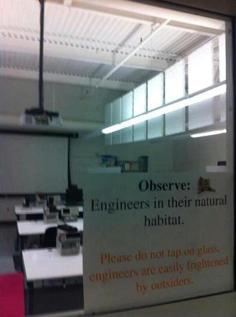 Be quiet. .. Saw a similar picture about programmers.