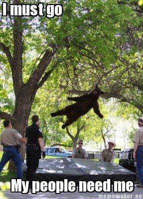 Bear. He must go. Baikal. -