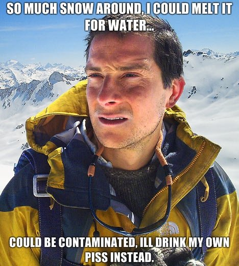 """Bear Grylls, I love him.. <a href=""""pictures/1162851/You+thumbed+for+it+Heres+another+3/"""" target=blank>www.funnyjunk.com/funny_pictures/1162851/Y"""