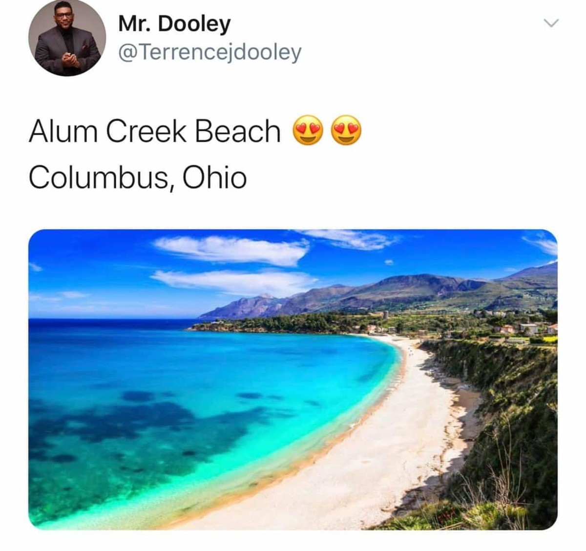 Beautiful. join list: Ohio (359 subs)Mention History.. That looks a whole lot like ocean water...