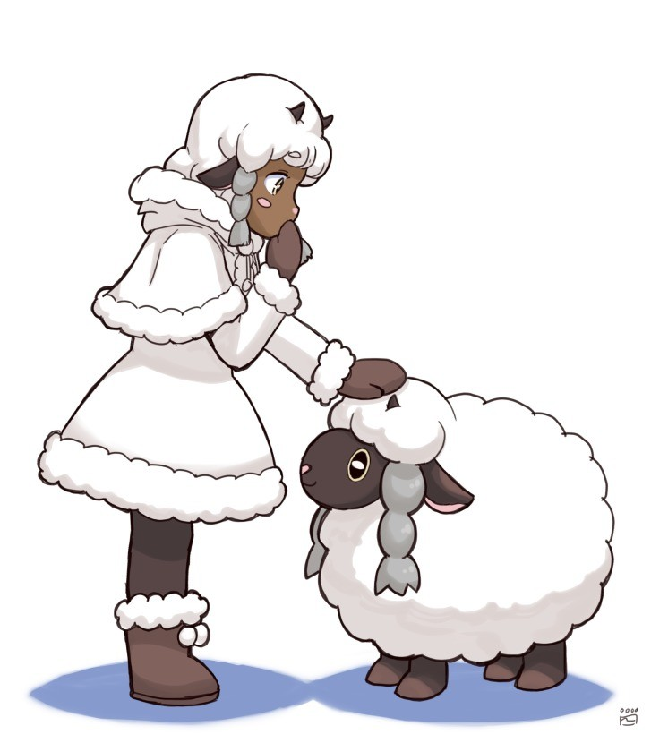 Beep beep I'm a Sheep. .. This makes cuddling with Wooloo a problem