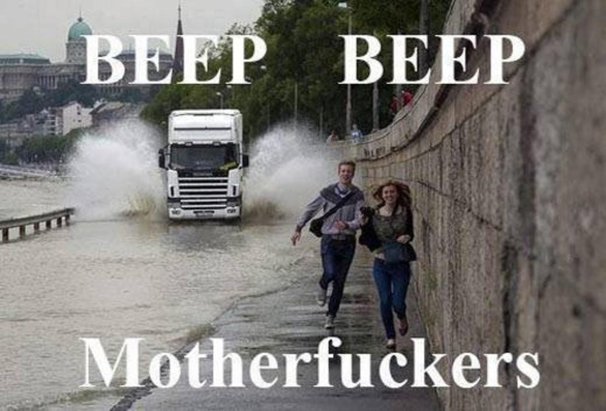 Beep Beep. .. wtf i live there