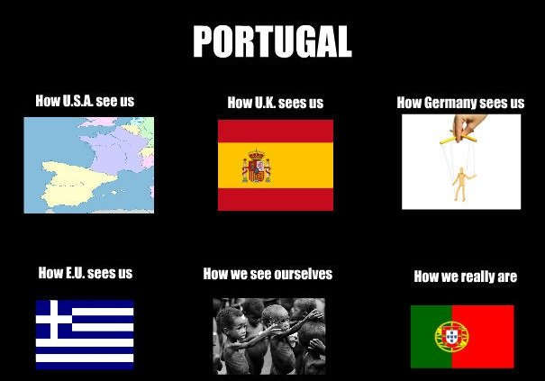 """Being irrelevant. . Mgt Statt """" Hum """" was us Hum """" was """" Hum we an Hm"""" Illa mally am. How footballers see Portugal"""