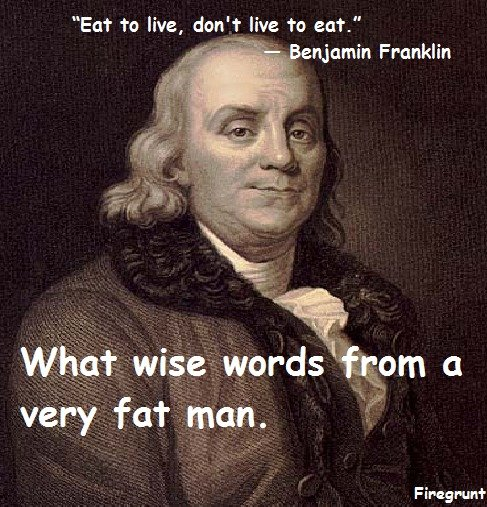 Benjamin Franklin. Just some quick stupid OC made by me. I mean no disrespect to any country, person, or people in this post. Just something I found kind of iro