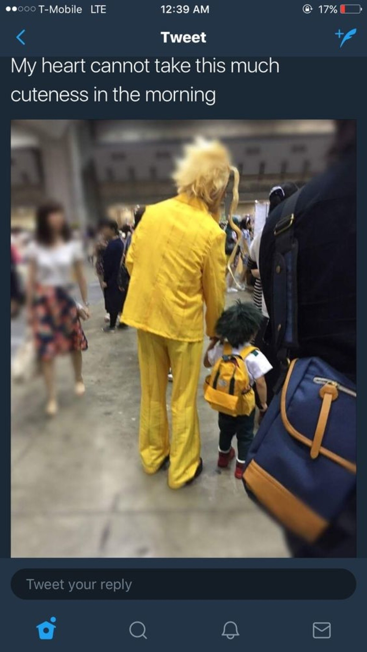 Best. Dad. Ever!. 3 Days until the MHA Cosplay Comp join list: EchsAnime (148 subs)Mention History join list:. First episode I saw I thought it would be just another shounen high school anime then this scene happened Maybe it's because everybody has something they want t