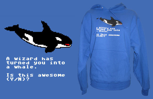 Best. Hoodie. Ever. made from 98% whale genitals. I wt lira H urn. II ii' in H has turned gnu into a Heale. Is this awesome