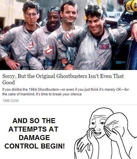 besztbusters. . Sorry, But the Original Ghostbusters Isn' t Even That Good Wen dislike the 1984 / / / its merely Orator the sake of mankind. its time to breakco
