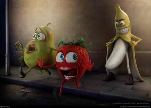 Beware of bananas. .