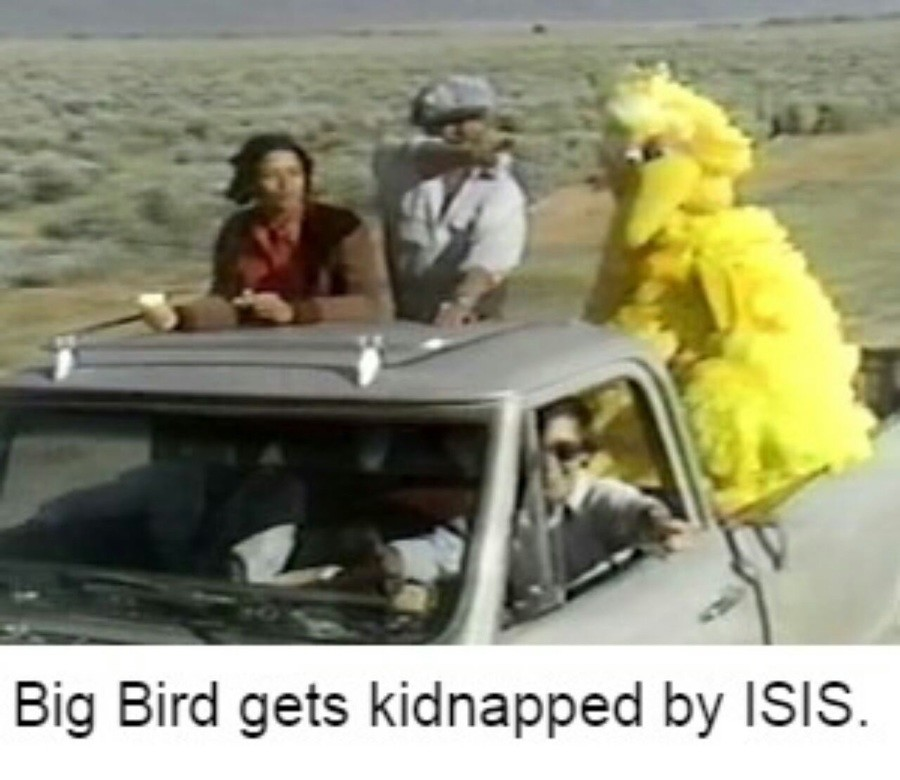 Big Bird's Day Off. .. MORE!