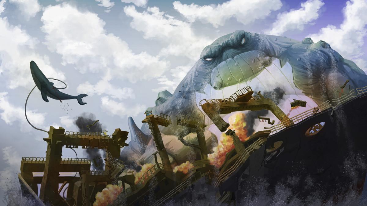 Big Mutant Whale by Diego Martinez. .