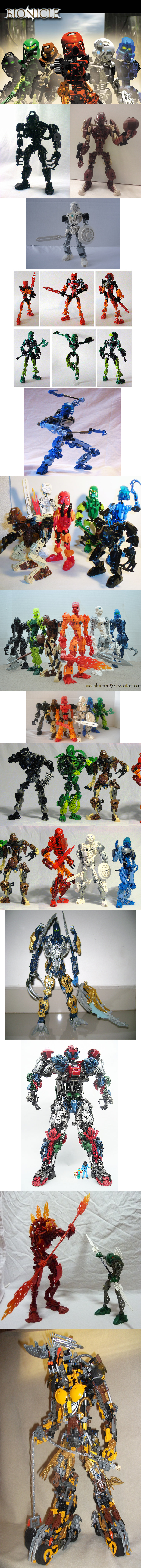 Bionicle-related Creations part 3. I'm a little low on ideas for comps. What would you want to see in a compilation?.. Lets all admit. Kopaka was the biggest badass of the Bionicle universe