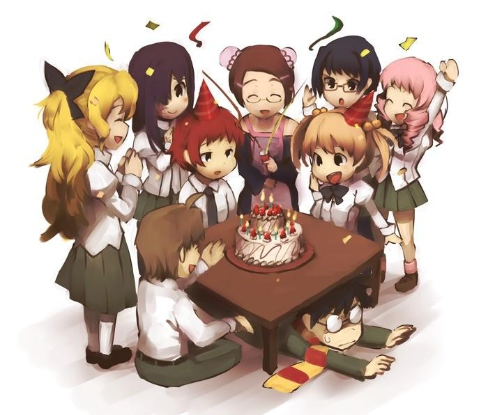birthday party. .