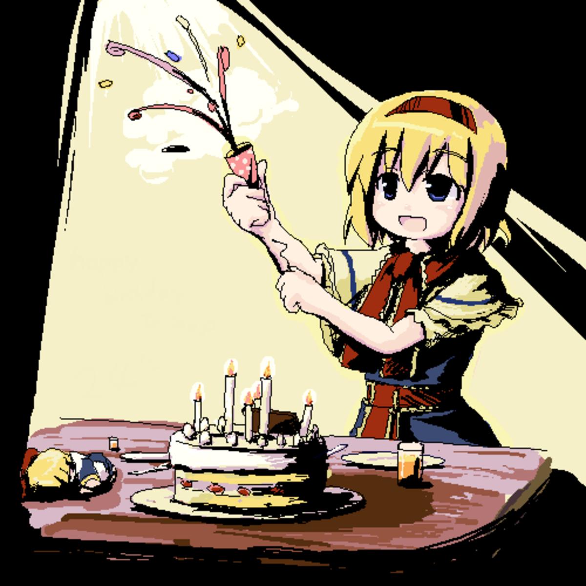 Birthday. .. her face