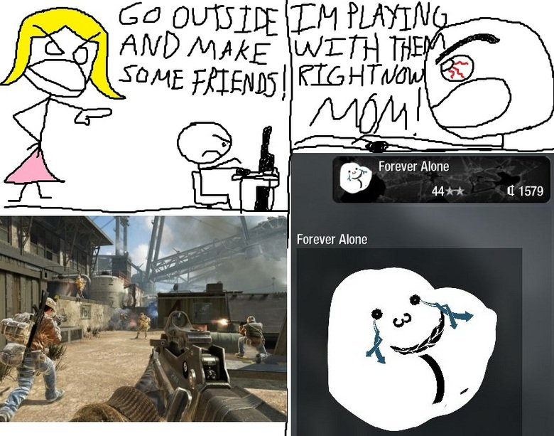 Black ops forever alone. WOW! LOOK AT THEM TAGS!!. Forever Alone. combat training