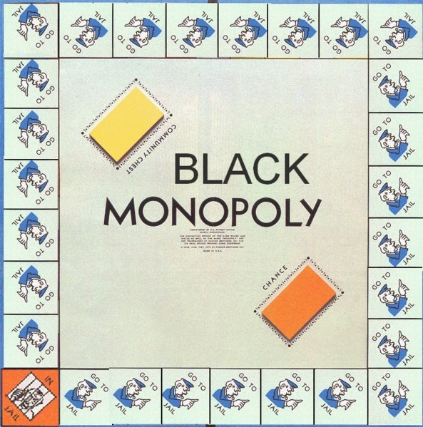 Black opoly. lullzzzz. task:) Fleq. Should have left community chest in there.