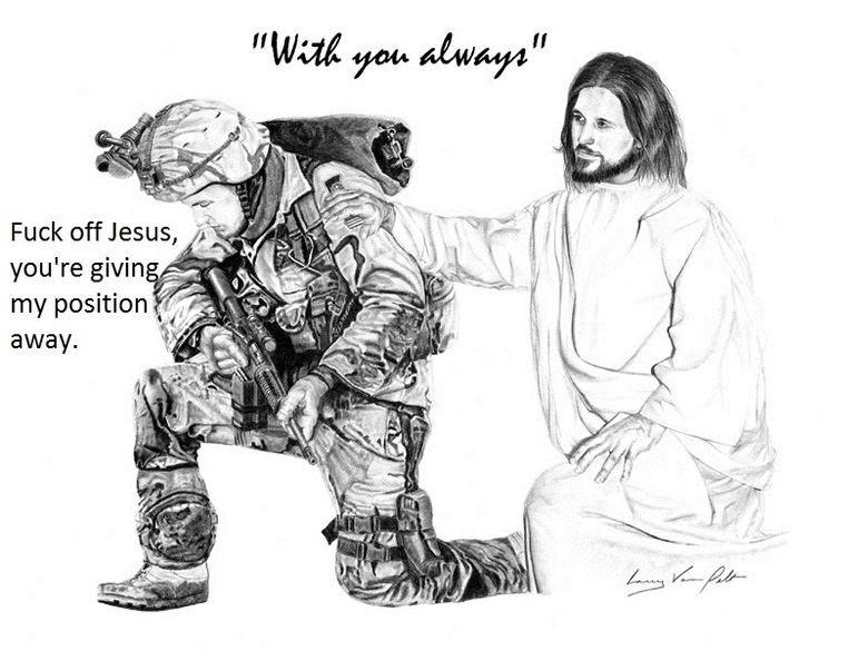 off Jesus. .. Repost