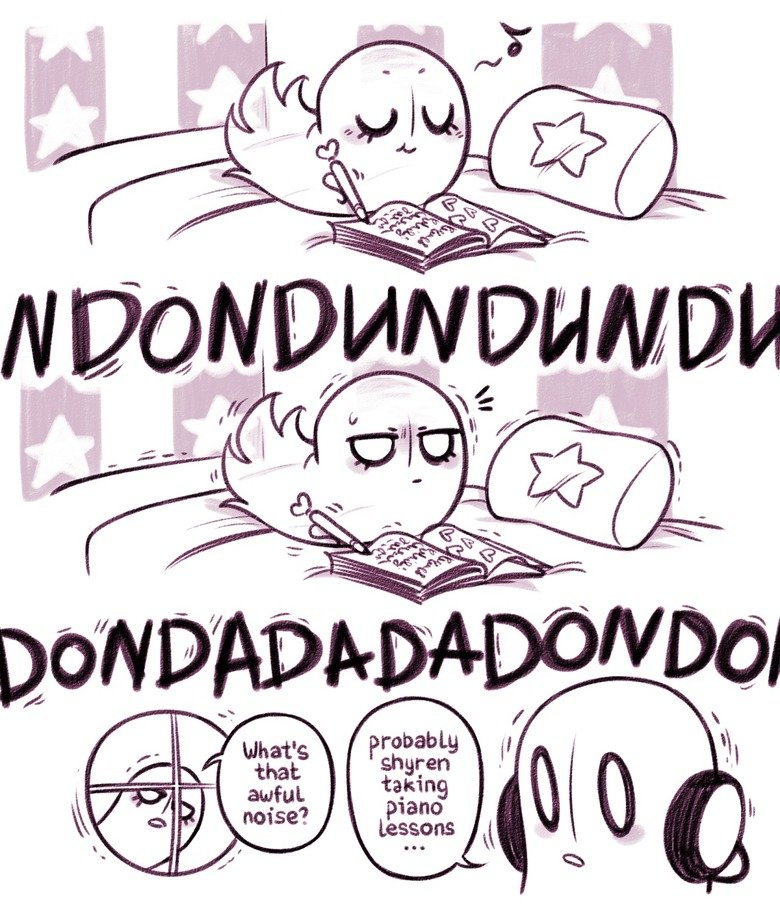 Blook before you. .. Well, it seems that Blooky is not like his father