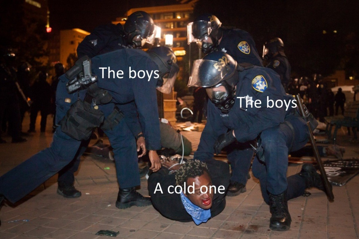 blue savage extravagant officer. .