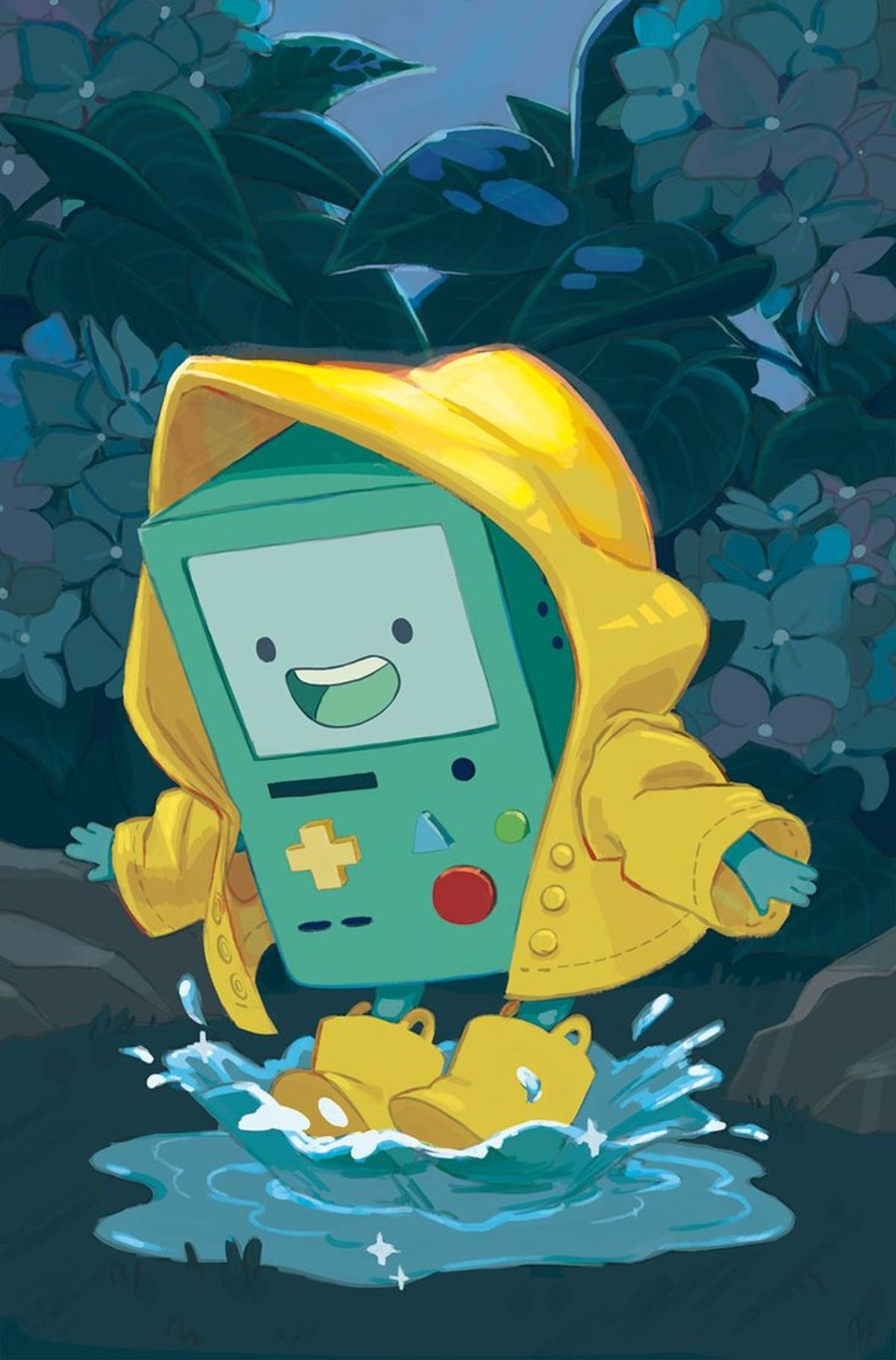 BMO. .. he is cursed . his curse is immortality