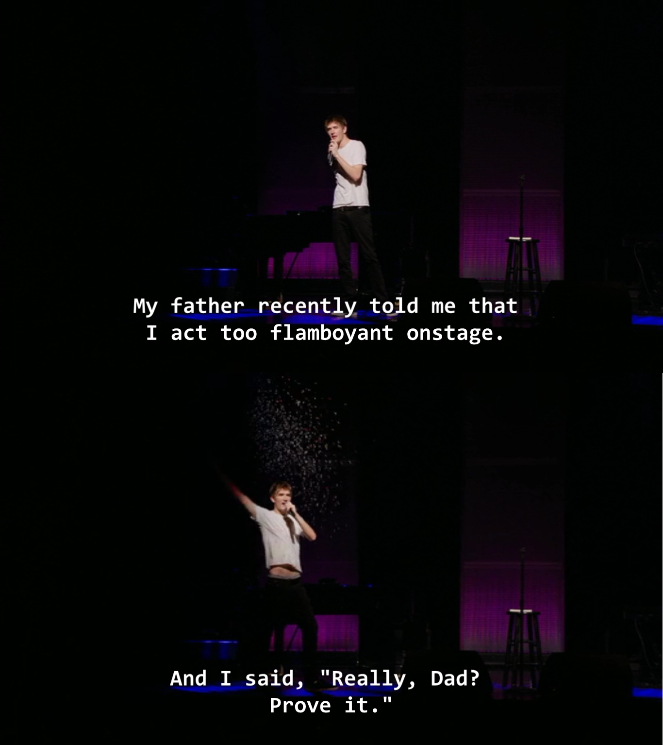 Bo Burnham. From his new special, what..