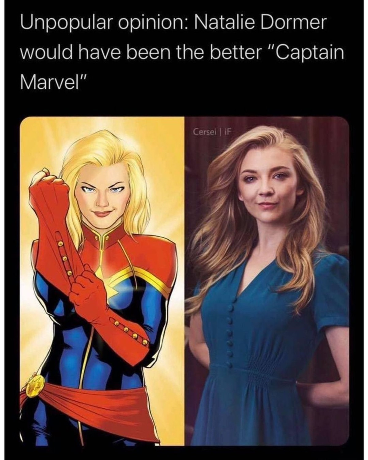 Boing.. .. I dunno, while I dislike Ms Marvels current actress, I think a lot of her character was also just written poorly. I dunno.