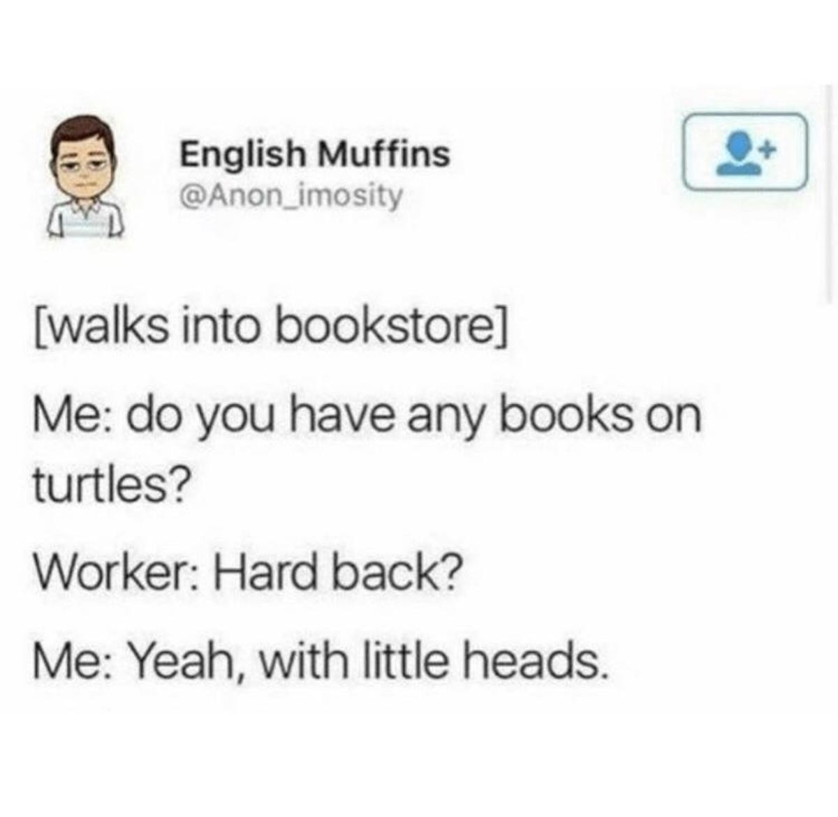 """Bookstore. .. Who the says """"hard back"""" It's hard cover."""