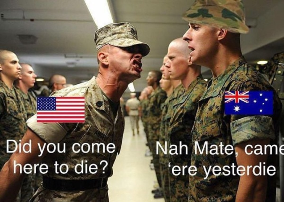 Boot camp. . p''' here to die'? 'ere yesterday