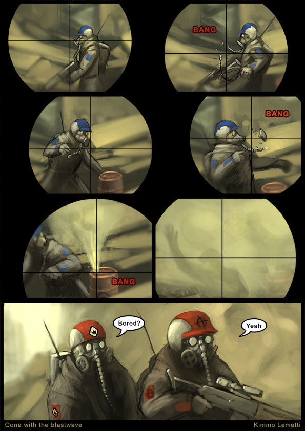 Bored?. Yeah..... I have the whole comic =D