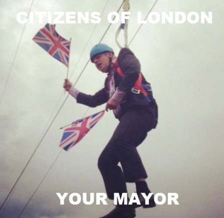 Boris Johnson. .