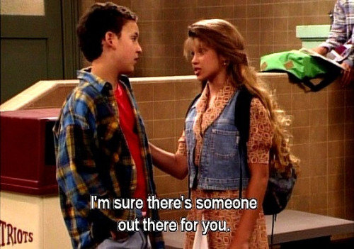 Boy Meets World. .. There's someone for everyone....