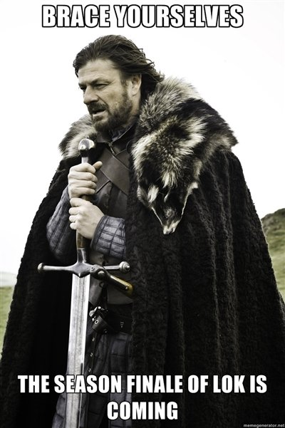 Brace Yourselves. . THE semis mun: or tax IS comm:. IT HAS COME