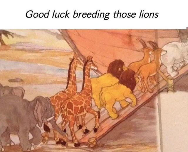 breeding. .. ugh I hate pride