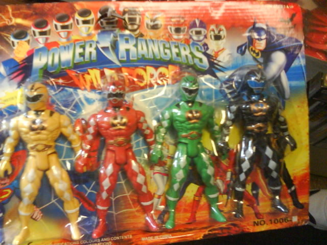 BRICKS? they will be shat. found this in china town chicago....idk when batman joined the power rangers but its pretty funny.. Batman + Power Rangers = i jizzed in my pants....