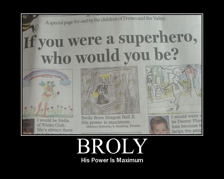 BROLYYYYY. . His Power T!!! Maximum. There is hope...