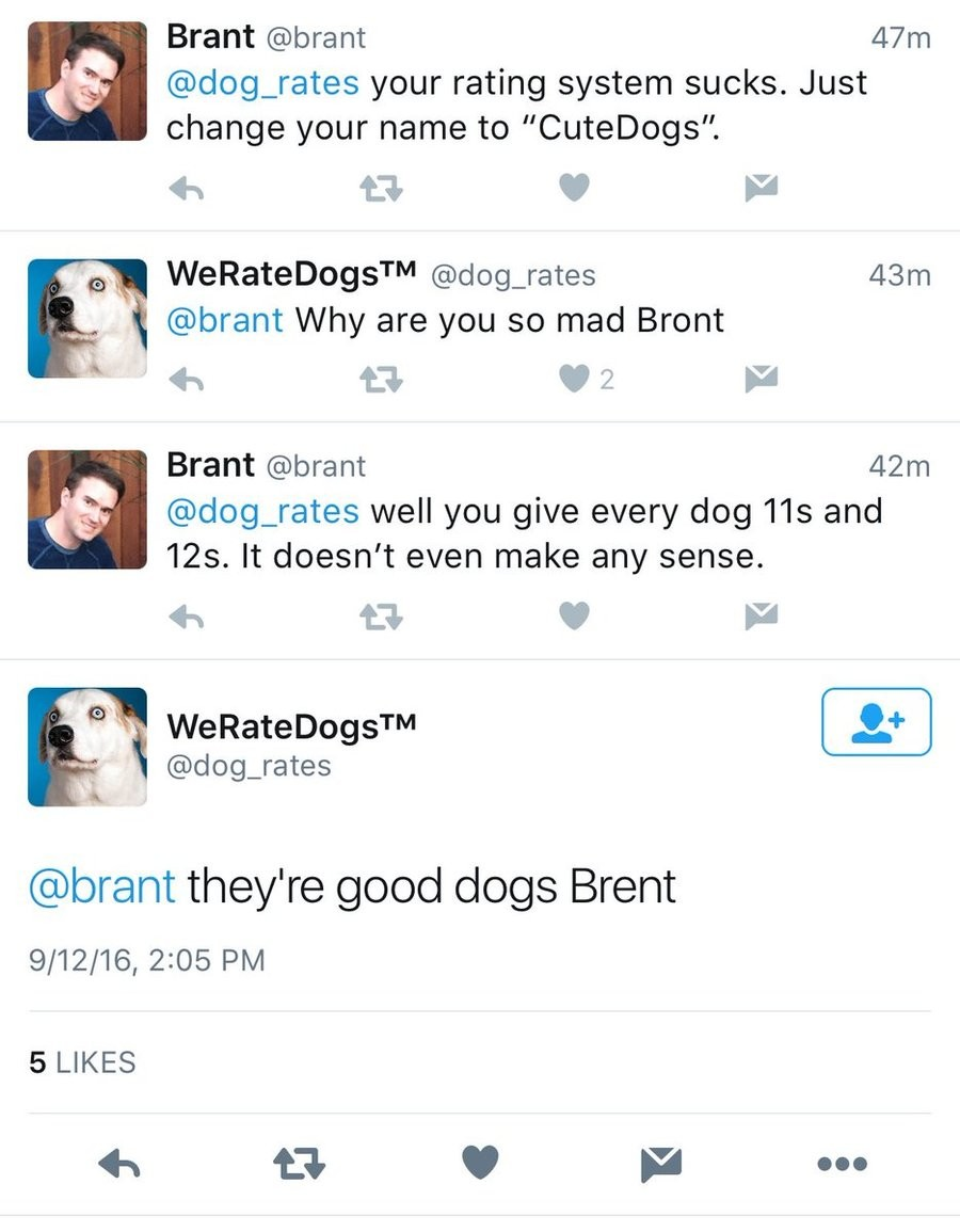 """Bront. . Brant @bra dog_ rates your rating system sucks. Just change your name to """""""". brant Why are you so mad wont Brant vibrant alog_ rates well you give ever"""
