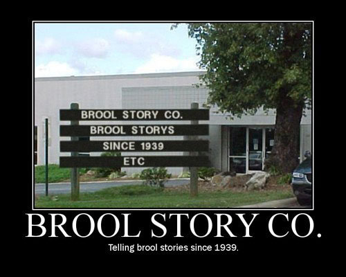 Brool Story, Co.. . STORY CO., smn:: E was BROOL . Telling bridal stories since 1939.