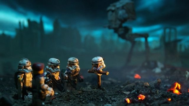 Brothers In Arms. The death star was an inside job. Are you kidding me just one X-wing brought the entire thing down? Plus don't get me started because we all k