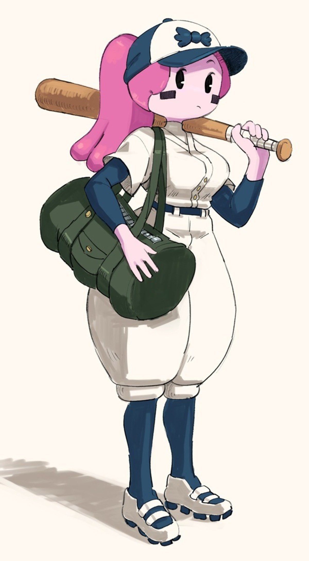 Bubble Butt up to Bat. join list: KlictiChasers (135 subs)Mention History.. Why those pants so damn puffy though?