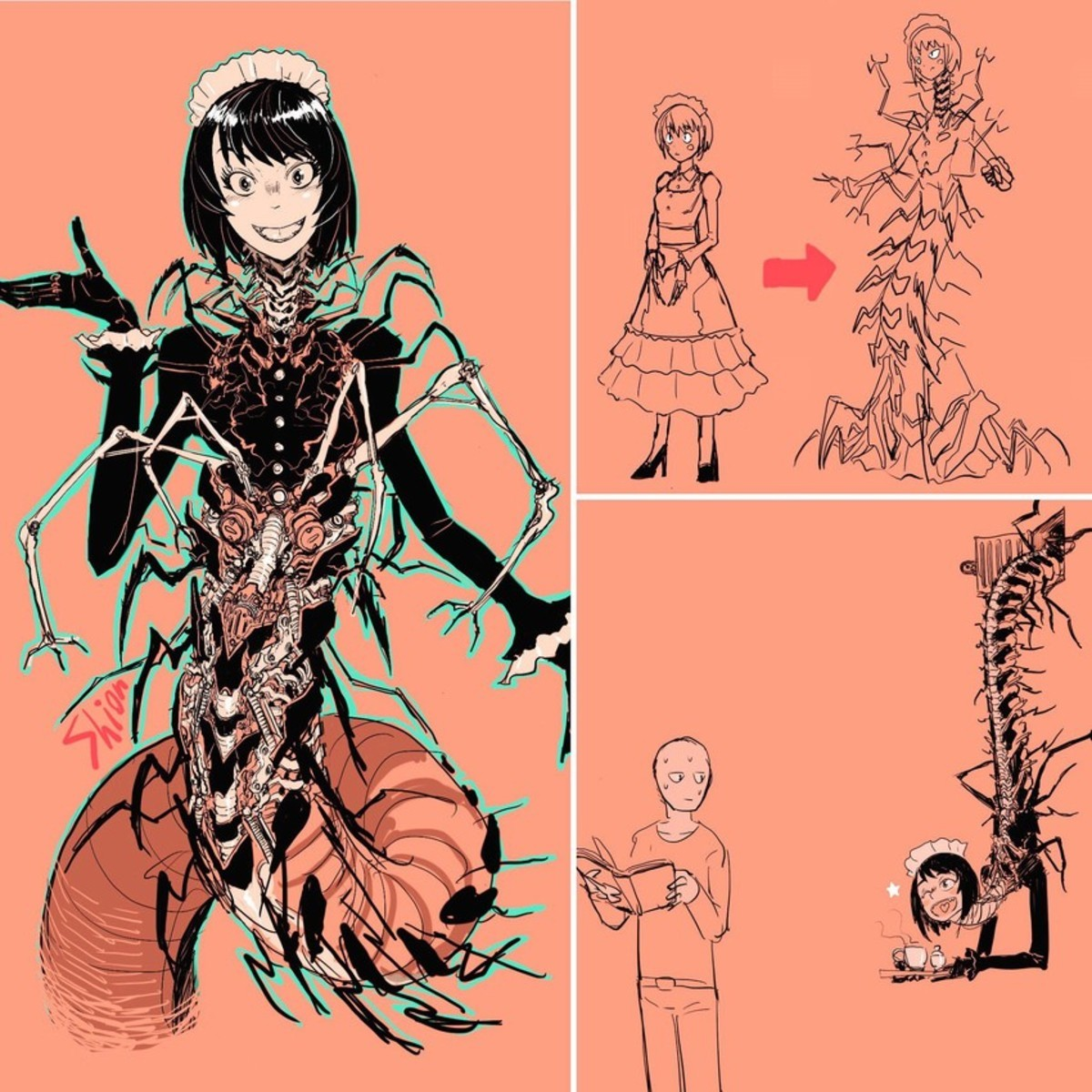 bugged. join list: Weirdfetishthings (1187 subs)Mention History.. Entoma from Overlord wishes she could be half this cool