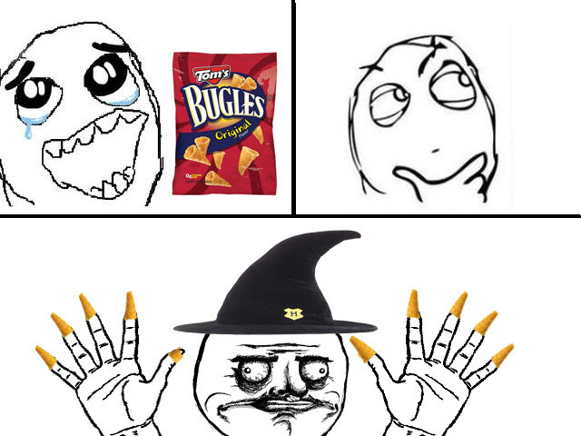 Bugles. original content!<br /> HEY FP! -conspiracy.. Hula hoops is were its at bitch.