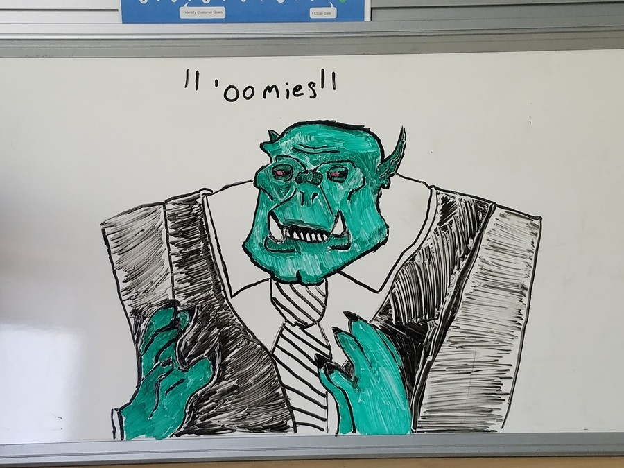 Business Ork. I was just proud of this... it's beautiful