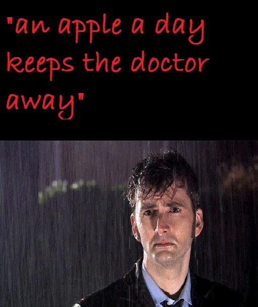 But i love the doctor!. just an idea I've got watching Doctor Who and made this OC.. And that's why i'm fat..