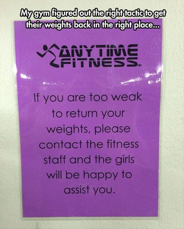But where are those good. source: dumpaday. their weights back in the right place.... Girls like this?