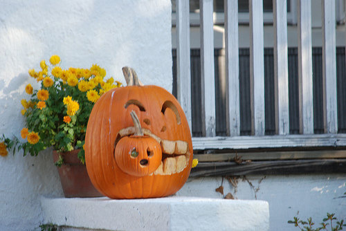 Cannibal Pumkin. He was a little hungary.. Hungary? the country?