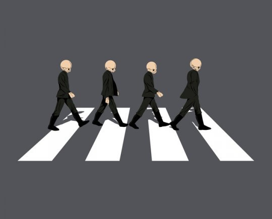 Cantina Road. THE BEATLES, STAR WARS FTW.