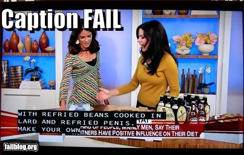 Caption Fail!. someone got fired....